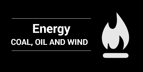 Energy: Coal, Oil and Wind
